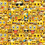 Character Wrapping Paper - Emoji - 3m