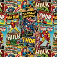 Character Wrapping Paper - Marvel - 3m