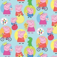 Character Wrapping Paper - Peppa Pig - 3m