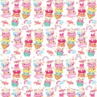 Character Wrapping Paper - Yum Yum - 3m