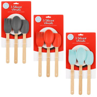 Betty Winters Silicone Utensil Set 3pc - Red
