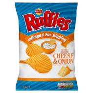 Walkers Ruffles Cheese 150g
