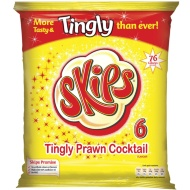 Skips Crisps 6pk - Prawn Cocktail