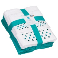 Modern Embroidered Towel Bale 6pc