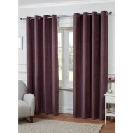Jessica Plain Chenille Fully Lined Curtain 46 x 54