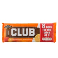 Jacobs Club 8 for 6 Bars Orange