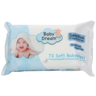 Baby Dream Baby Sensitive Wipes 72pk