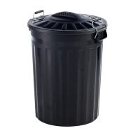 Refuse Bin with Metal Clip Handles 80L