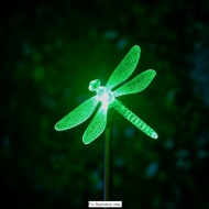 Colour Changing Solar Stake Light - Dragonfly