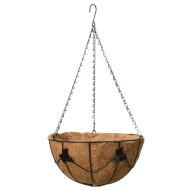 Deluxe Hanging Basket with Coco Liner 30cm