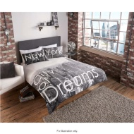 New York City of Dreams Double Duvet Set