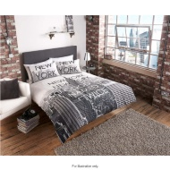New York City Scene Double Duvet Set