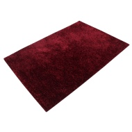 Divine Plain Supersoft Fashion Rug - Red