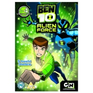 Ben 10 Alien Force 4 DVD