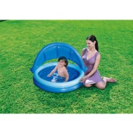 Baby Shaded Paddling Pool 135cm