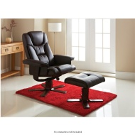 Sorrento Recliner Chair With Footstool