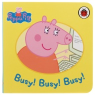 Peppa Pig Mini Board Book - Busy! Busy! Busy!