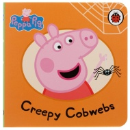 Peppa Pig Mini Board Book - Creepy Cobwebs