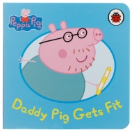 Peppa Pig Mini Board Book - Daddy Pig Gets Fit