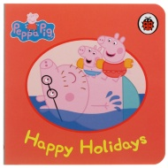 Peppa Pig Mini Board Book - Happy Holidays