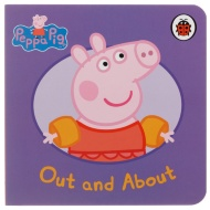 Peppa Pig Mini Board Book - Out & About