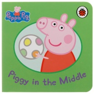 Peppa Pig Mini Board Book - Piggy in the Middle