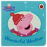 Peppa Pig Mini Board Book - Wonderful Weather