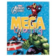Mega Colouring Book - Marvel Avengers Assemble