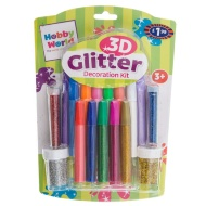 Hobby World 3D Glitter Decoration Kit