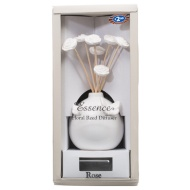 Ceramic Butterfly Reed Diffuser Gift Set - Rose