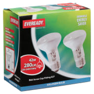 Eveready Halogen R63 42W Spot Light Bulbs 2pk