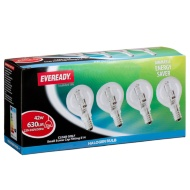 Eveready Halogen SES 42W Golf Light Bulbs 4pk