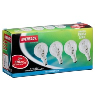 Eveready Halogen SES 28W Golf Light Bulbs 4pk