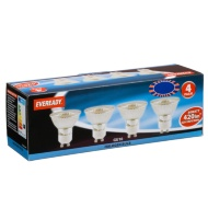 Eveready Halogen GU10 50W Light Bulbs 4pk