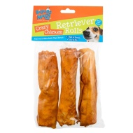 Barking Mad Rawhide Dog Chews - Crazy Chicken