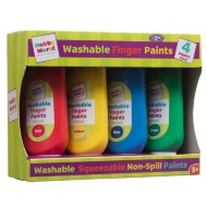 Hobby World Washable Finger Paints