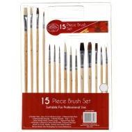 Brunel Franklin Brush Set 15pk
