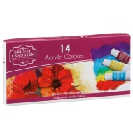 Brunel Franklin Acrylic Colour Paints 14pk