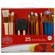 Brunel Franklin Artist Brushes 25pk