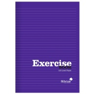 Silvine Exercise Book A4 - Purple