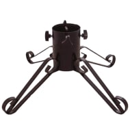 Traditional Wrought Iron Christmas Tree Stand 4