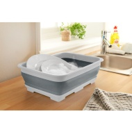 Collapsible Washing Up Bowl - Grey