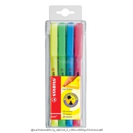 Stabilo Flash 4pack Highlighters