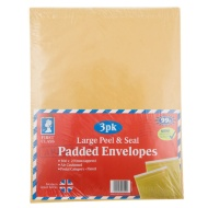 Large Padded Envelopes 3pk