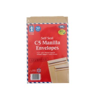 C5 Manilla Envelopes 30pk