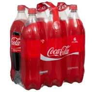 Coca-Cola Regular Bottles 6 x 1.25L