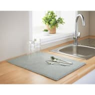 Addis Microfibre Dish Drying Mat - Grey
