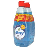 Easy Washing Up Liquid - Anti-Bacterial 2 x 550ml