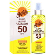 Malibu All Day Protection Sun Cream Factor 50 250ml