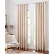 Colorado Hopsack Fully Lined Eyelet Curtain 90 x 90
